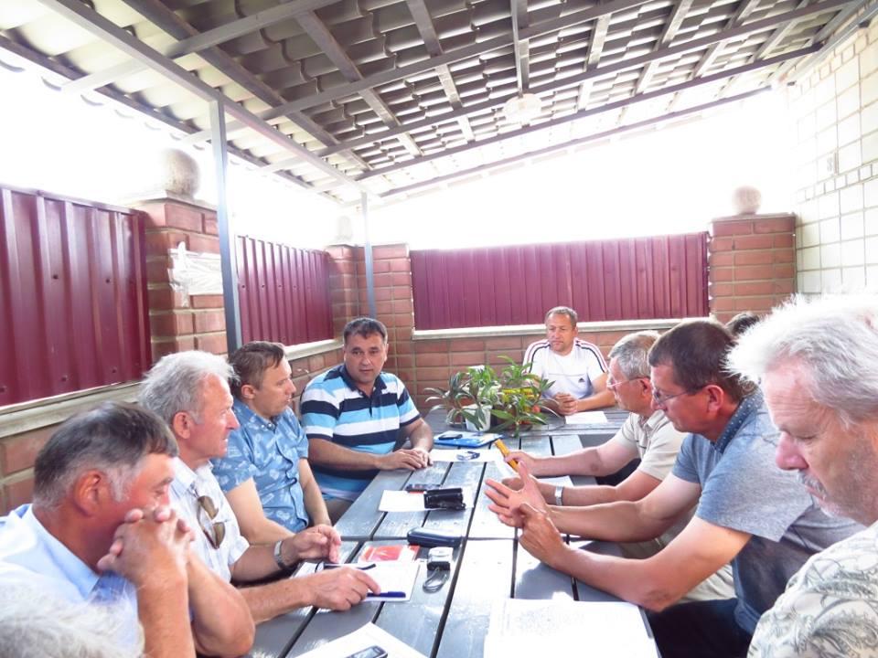 В Четвертинівці відбулось робоче засідання координаційної ради