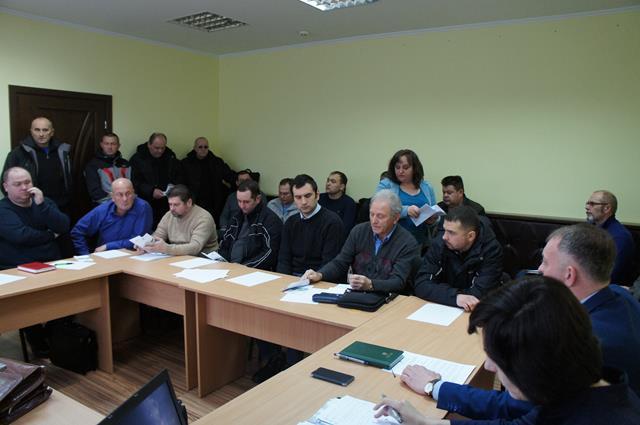 Володимир Катеринич взяв участь  в обласній нараді в Державній екологічній інспекції