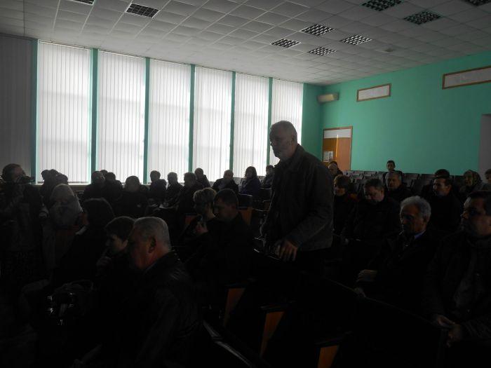 Відбулись громадські слухання  щодо реконструкції золошлаковідвалу