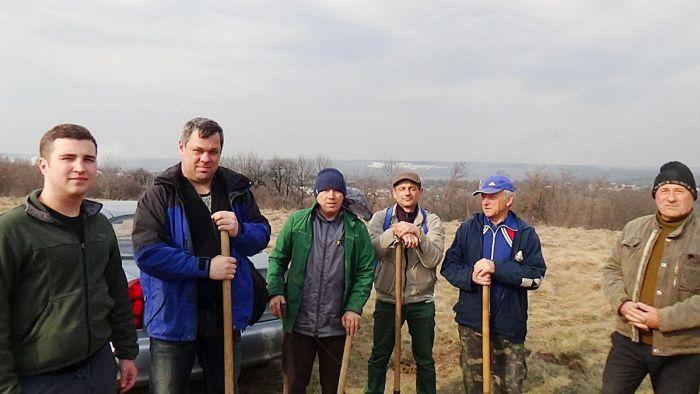 Алея пам'яті «Героям 1941 року» була висаджена в Лукашівці