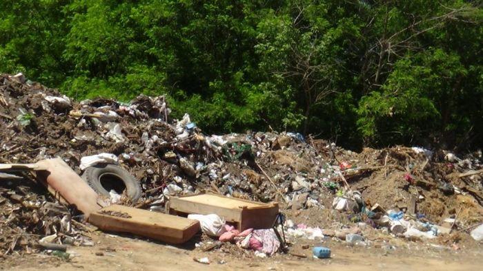 Біля Коростовецького заказника розмістили  сміттєзвалище