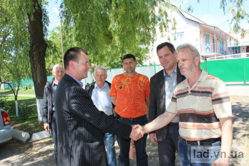 Громадська кампанія в селі Красносілка