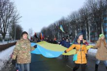Ладижин відзначив День пам'яті  героїв Крут смолоскипною  ходою  містом (фото та відео)