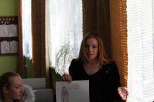 Студенти Ладижинського коледжу ВНАУ зобразили своє бачення людей з особливими потребами у малюнках