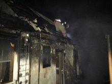 В Ладижині згорів житловий будинок